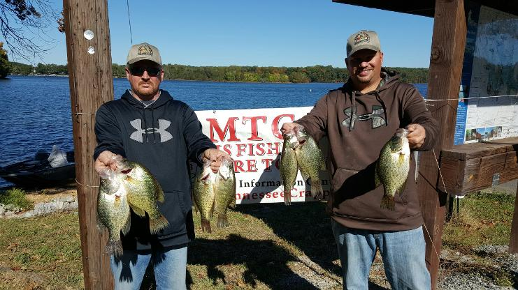 Middle tennessee crappie club for Crappie fishing in tennessee